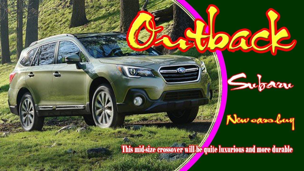 2020 Subaru Outback 2020 Subaru Outback Redesign 2020 Subaru