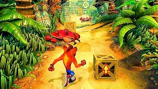 CRASH BANDICOOT N. Sane Trilogy Gameplay Trailer (2018) PS4 / Xbox One / Switch / PC