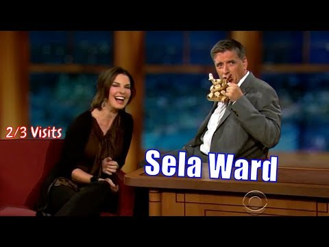 Sela Ward  She Is Really Into Craig  23 Visits In Chronological Order