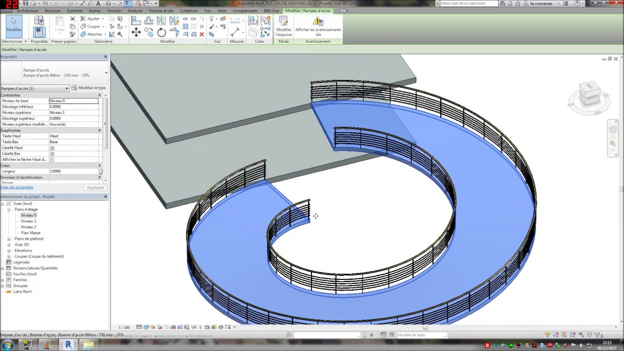 Rampe Revit Youtube