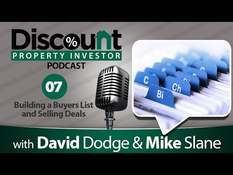 Building a Buyers List and Selling Deals | Episode 7