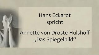 """Annette von Droste-Hülshoff – """"Das Spiegelbild"""""""