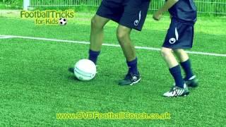 Learn Neymar/eriksen Soccer Trick Dribble (nutmeg Panna) - How To Do Football Skills & Moves