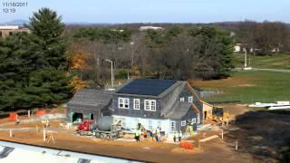 NZERTF Construction Time-lapse