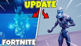 SNOWSTORM IN FORTNITE * UPDATE VIDEO * NEW IS-ZOMBIES = FREE SHIELD