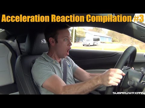 Acceleration Reaction Compilation 3  300K Sub Special