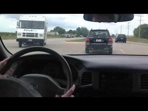 Left Lane Change in Traffic