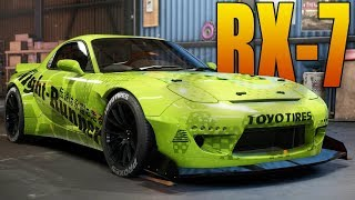 HIDDEN RX7 LOCATION & BUILD - Need for Speed Payback