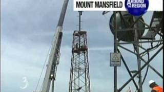 WCAX Analog Tower Comes Down