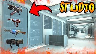 Why Are The SLIQUIFIER & DUEL RAYGUNS in STUDIO! Black Ops 2 Zombies Storyline & Easter Eggs