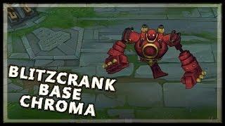Blitzcrank Classic Skin Chroma Pack - League of Legends