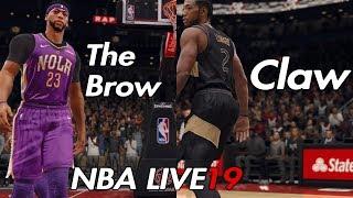 NBA LIVE 19 Rosters - Davis vs Leonard | Pelicans vs Raptors