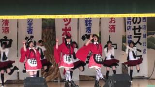 2012年5月5日「りんご娘とアルプスおとめ弘前さくら祭りライブ」の最後...