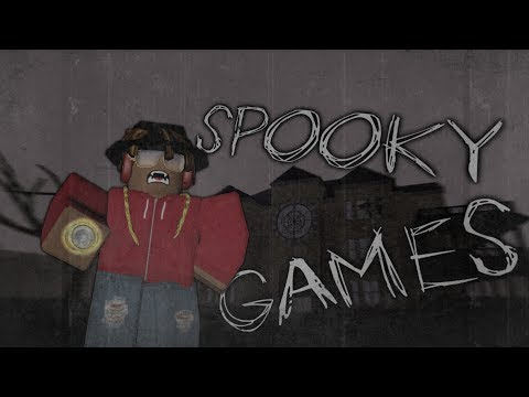 PLAYING SPOOKY GAMES | ROBLOX Livestream