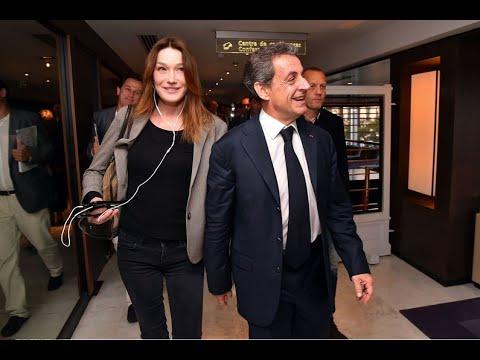 Nicolas Sarkozy Et Carla Bruni En Une De Paris Match Suscitent L Hilarite Des Internautes Youtube