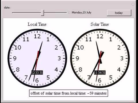 Solar Time Calculator