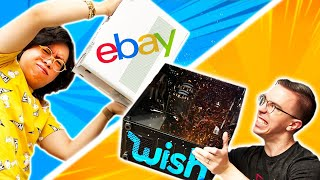 Wish vs eBay Gaming PC CHALLENGE