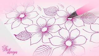 Nas Designs Tutorial 09: Floral Design