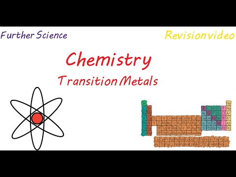 C3: Transition Metals (Revision)