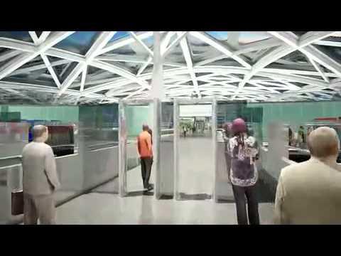 2 Heydar Aliyev International Airport Baku ,terminal 2. Azerbaijan.mp4