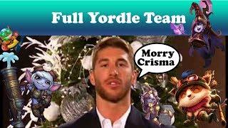 League of legends full yordle team + Morry christmas de sergio ramos