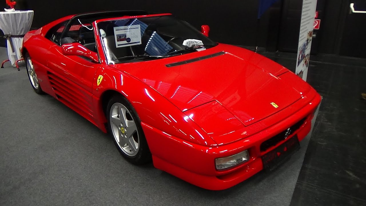 1992 ferrari 348 ts exterior and interior classic expo salzburg 2015 youtube. Black Bedroom Furniture Sets. Home Design Ideas