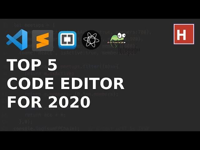 best code editor for web developer in 2020 hindi