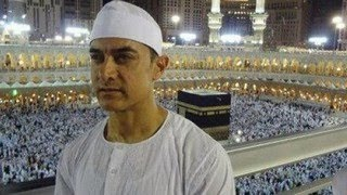 vuclip Aamir Khan SPOTTED in Mecca on Hajj