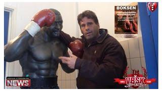 """Steve Brown: """"NN Bokskampioenschappen in  oude Bokschool Albert Cuyp""""."""