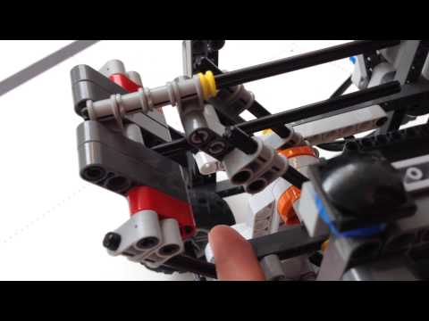 WRO 2014 LEGO Solar panel carrier