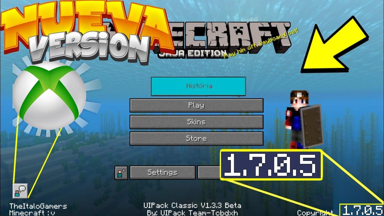 Minecraft pe 1 7 0 5 apk