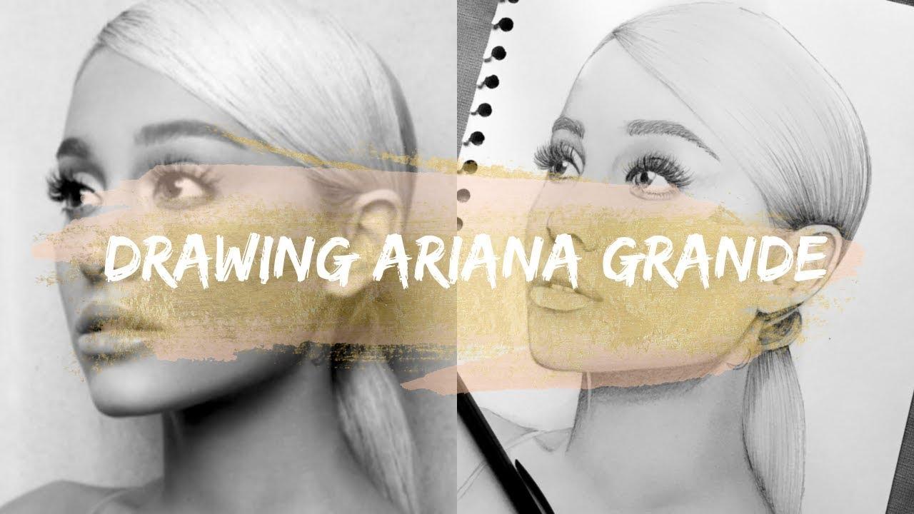 Drawing ariana grande sweetener album cover