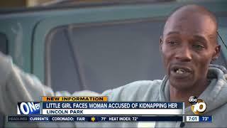 Little girl testifies against alleged kidnapper