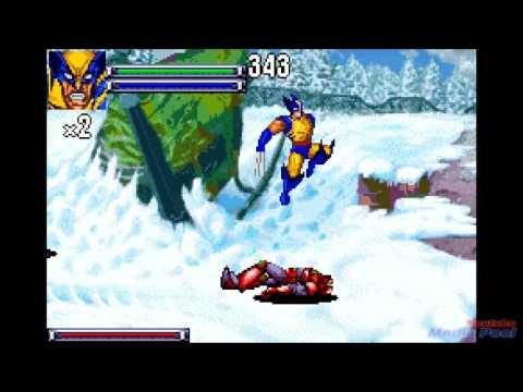 2001 X-Men: Reign of Apocalypse (Gameboy Advance) Game Playthrough Retro Game