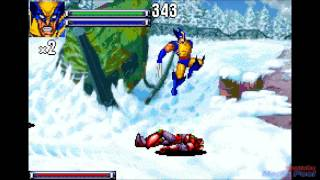 2001 X-Men: Reign of Apocalypse (Gameboy Advance) Game Playthrough Retro Game