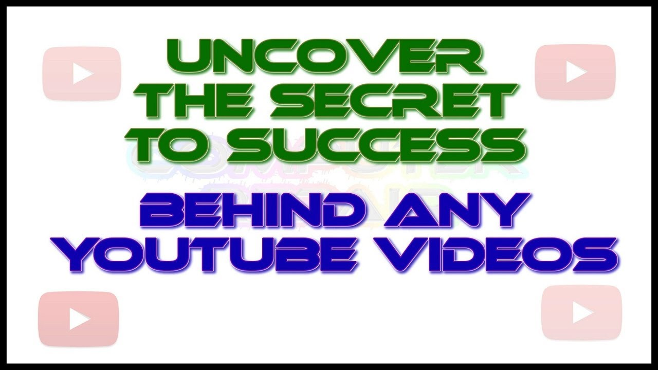 Uncover The Secret To Success Behind Your Favorite YouTube Videos √ Chrome Extension √ Full HD-2017