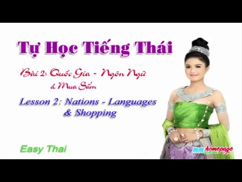 Giáo trình Thai for beginners bài 2