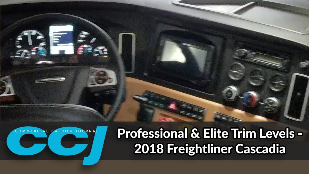 Professional Elite Trim Levels 2018 Freightliner Ca Doovi