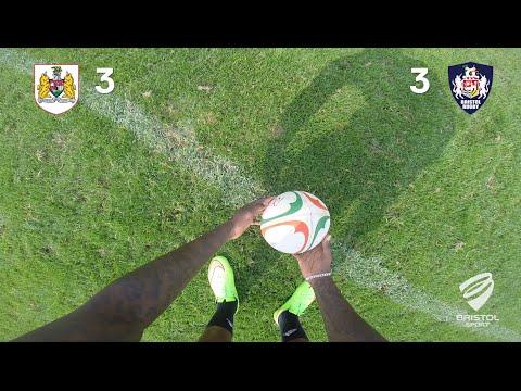Bristol Sport's penalty kick challenge - Bristol Rugby vs Bristol City