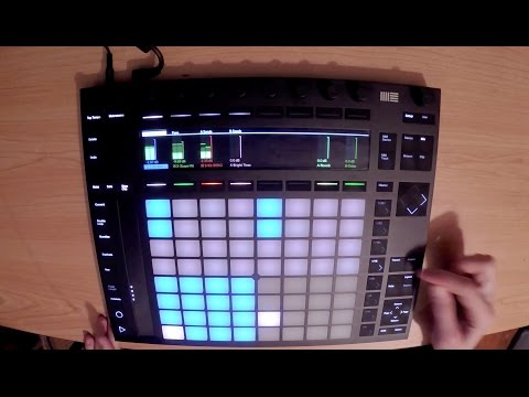 Ableton Push - Making Electronic Music With Ableton Push