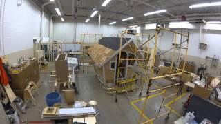 Building Construction Management Timelapse Video 091814