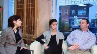 Renee and Dan Glazier of Frontier Sales Furniture With Jennifer Goodman