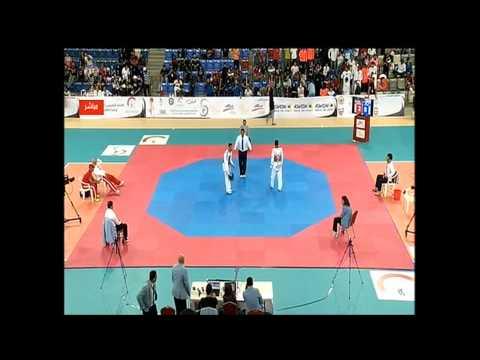 2014 GCC TaeKwonDo Championship Final 58KG Bahrain VS Kuwait