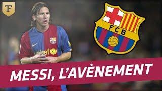 L'avènement de Lionel Messi (2007)