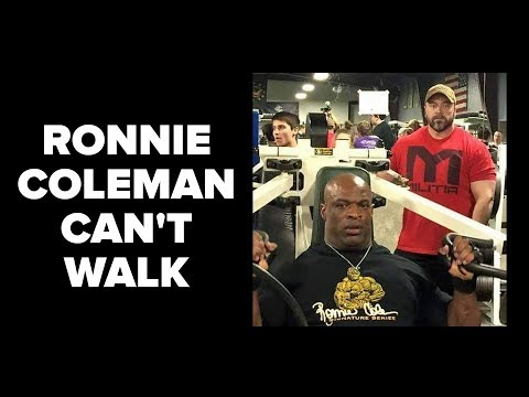 Ronnie Coleman Can't Walk - NEW Strength Standards to Consider?