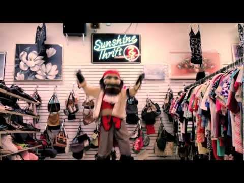 """Thrift Shop"" presented by the Tampa Bay Buccaneer Cheerleaders & Captain Fear"