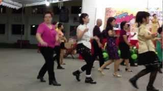 Ai De Lu Shang Qian Wan Li - Line Dance