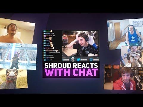 Shroud Reacts To Random Twitch Clips *NEW*