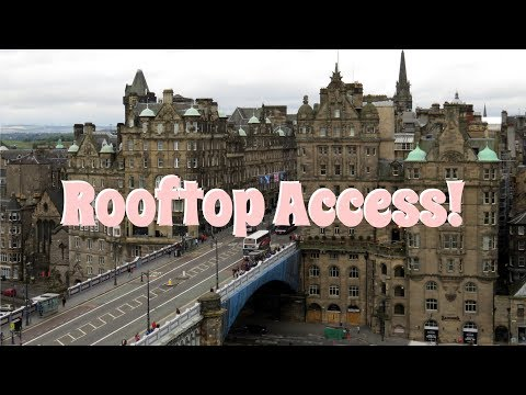 Edinburgh Bucket List: Balmoral Rooftop & Inside their Clock!