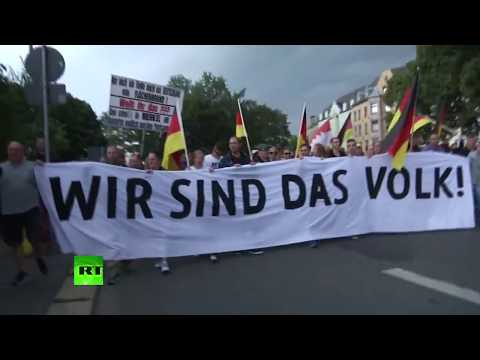 Germany's Chemnitz: Far-right rally over the fatal stabbing of a man that was blamed on 2 migrants